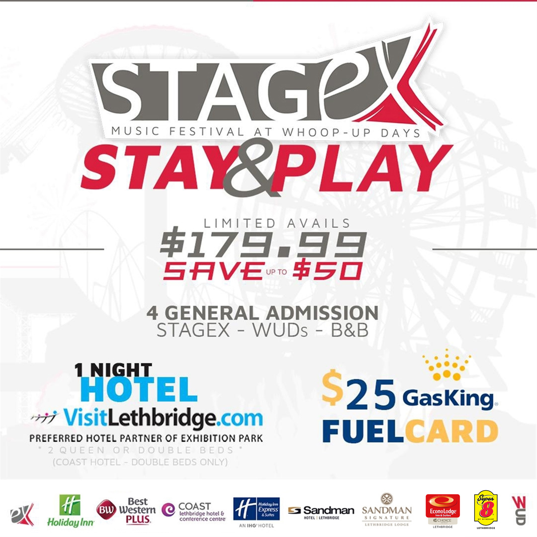 NEW:REVISED - STAY AND PLAY STAGEX
